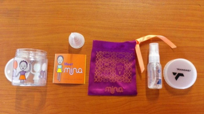 Mina cup and accessories by Happy with a Purpose