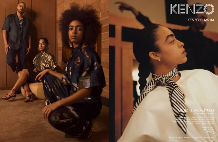 Kenzo SS17 campaign