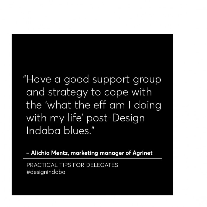 How to Indaba: Practical tips on Design Indaba from fellow delegates and speakers