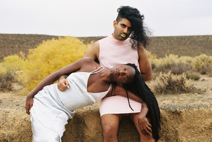 SOFT by  Zara Julius, artist and activist Joshua Allen and gender non-conforming artist Alok Vaid-Menon