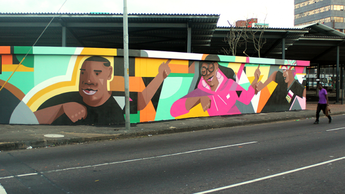 The Taxi Dance Mural