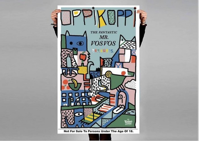 Oppikoppi poster by Renee Rossouw