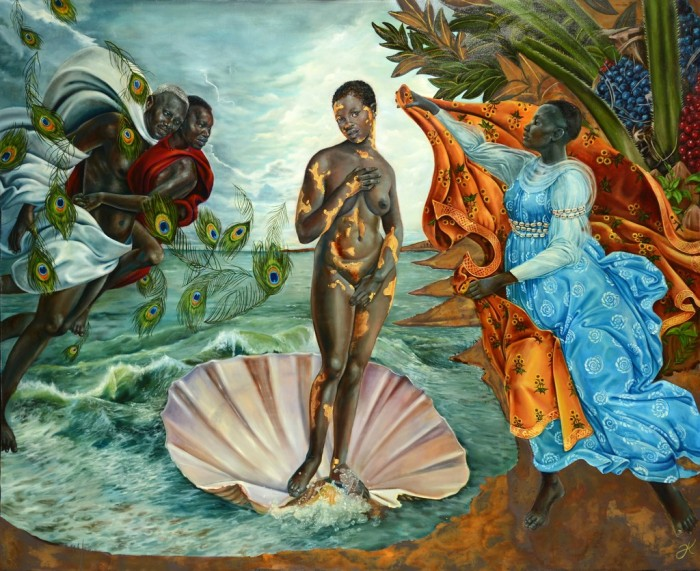 Harmonia Rosales' Birth of Oshun