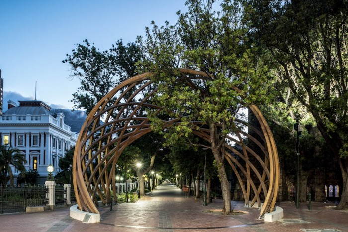 Arch for Arch monument in Cape Town
