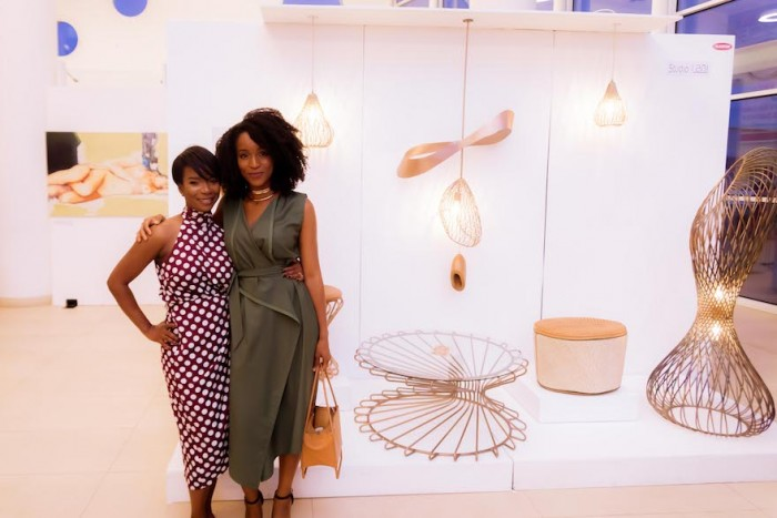 Tanwa Newbold and Lani Adeoye from Studio Lani