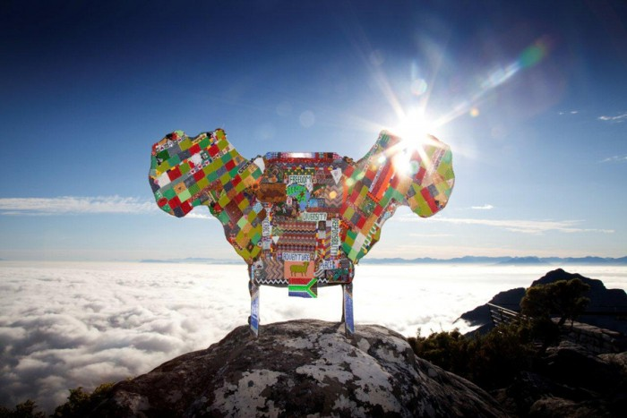 2011: Dreams for Africa Chair by Woza Moya