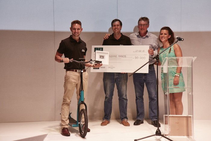 Design Indaba Innovation Award 2015 winners eLABS.