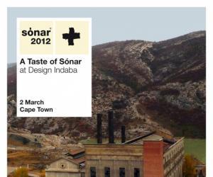 A Taste of Sónar at Design Indaba 2012