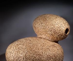 Cocoon Plan sofa - bamboo.