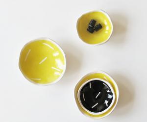 Klomp Ceramics Graffica stacking bowls