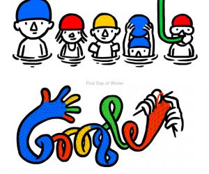 Google doodle by Christoph Niemann