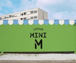 Mini M grocery store by Matali Crasset.