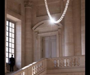 Gabriel Chandelier by Ronan & Erwan Bouroullec.