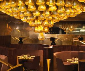 Eclectic Restaurant interior by Tom Dixon.