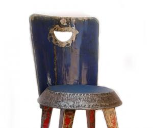 Metal Chair by Hamed Design Studio.