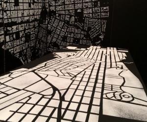 """Eetstad"" installation by WitOpWit."
