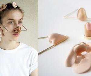 """Tricking Biometrics"" by Alix Gallet (Portrait picture: Femke Rijerman. Model: Julia Bocanet)."