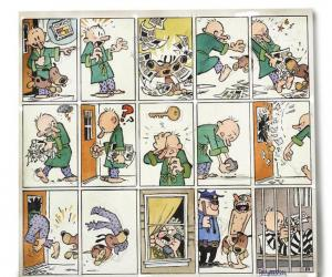 Bill Watterson's newest 15 panel cartoon strip.