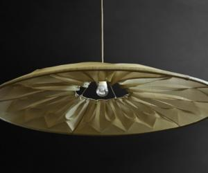 Ukhamba collection: Fan Lamp by Mema Designs.