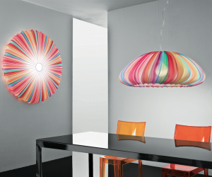 Axo's Muse light blooms with a distinctive colourful luminosity.