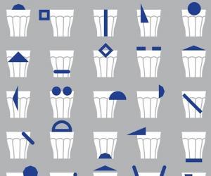 5.5 designstudio repurposes the Picardie glass.