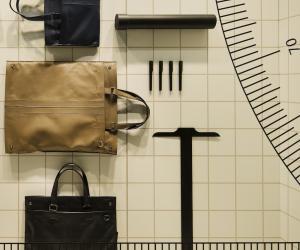 Nendo's multifunctional architect bag for Tod's.
