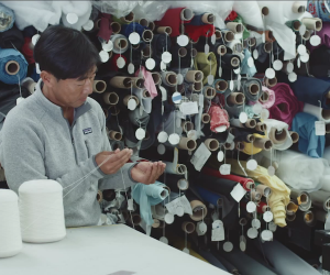 Patagonia Merino Air Baselayer fabric