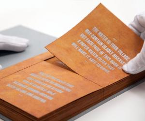 The pages of The Drinkable Book, developed by Dr Theresa Dankovitch, work as safe water filters and provide the vital information on waterborne diseases