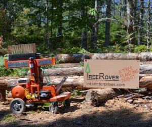 The TreeRover is an autonomous tree-planting robot.