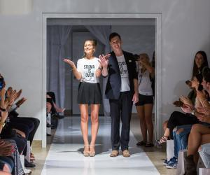 Wear Your Label founders Kayley Reed and Kyle MacNevin
