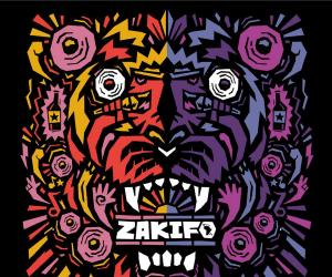 Kronk's poster design for the Zakifo Festival