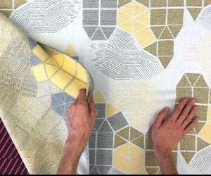 Jacquard-woven fabrics by Wovns
