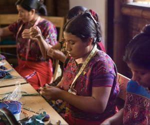 Bringing to life the dreams of rural women in Guatemala, Wakami is a design-driven organisation that sells over $1-million in products to over 20 countries. Image: Wakami