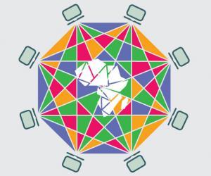 Blockchain in Africa Illustration