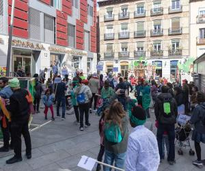 Grigri Pixel event in Madrid's Barrio de las Letras (Literary Quarter)