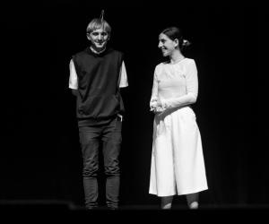 neil harbisson and moon ribas at design indaba conference 2019