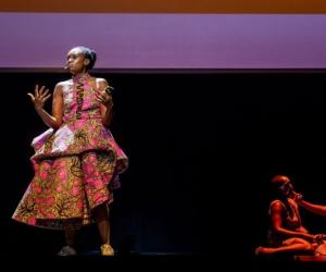 Wanuri Kahiu on stage at Design Indaba Conference 2019