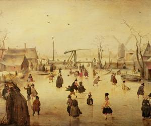 Hendrick Avercamp's 'Ice Scene'