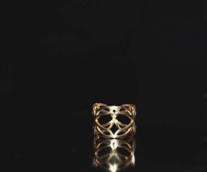 Anthi Voyatjes pattern ring.