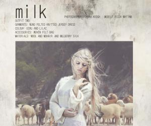 2014 Emerging Creative: Milk: Mohair She Felt.