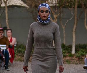 Polo Neck Sweater Dress by Fundudzi by Craig Jacobs.