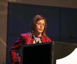 Jenny Ehlers at Design Indaba Conference 2007.