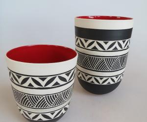 Ceramics by Linda Khuzwayo.