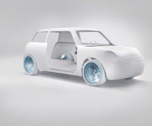 Scholten & Baijings redesign a MINI for Dutch Design Week 2012