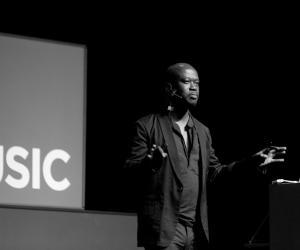 David Adjaye at Design Indaba Conference 2013.