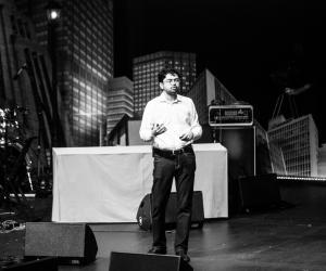Vinay Venkatraman at 2014 Design Indaba Conference