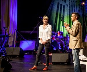 Margot Janse and David Higgs at Design Indaba Conference 2014