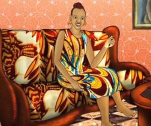 "A screen grab from ""Yellow Fever"", an animated, award-winning film by Kenyan filmmaker Ng'endo Mukii"