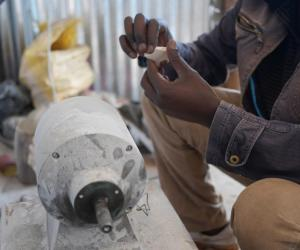 In Part 3 of a series presented by Nairobi Design Week, we meet one of the founders of Victorious Bone Craft – a small business based in Kenya's Kibera