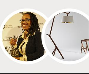 The Umthi Hanging Lamp takes its cue from the beauty found in nature.